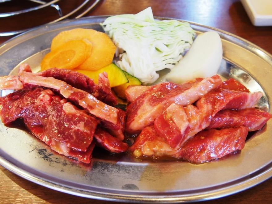 焼き肉おふく カルビ ハラミ