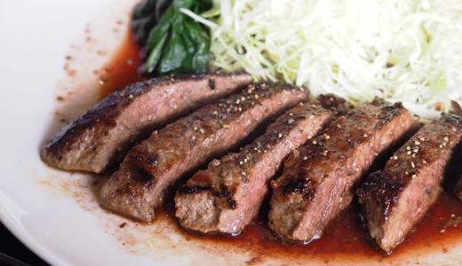 笠岡市「ステーキハウス川柳」リーズナブルで美味しいステーキ!たまごかけごはんもガッツリ食べよう