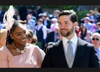 Serena Williams And Husband , Alexis Ohanian