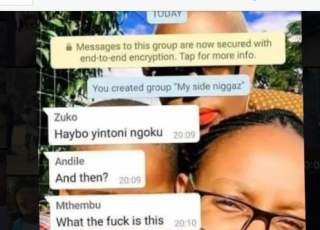 Lady Opens A Whatsapp Group For All Her Boyfriends,Gives Reason