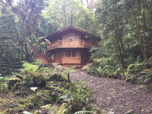 Cabin we stayed at in Cerro Punta!