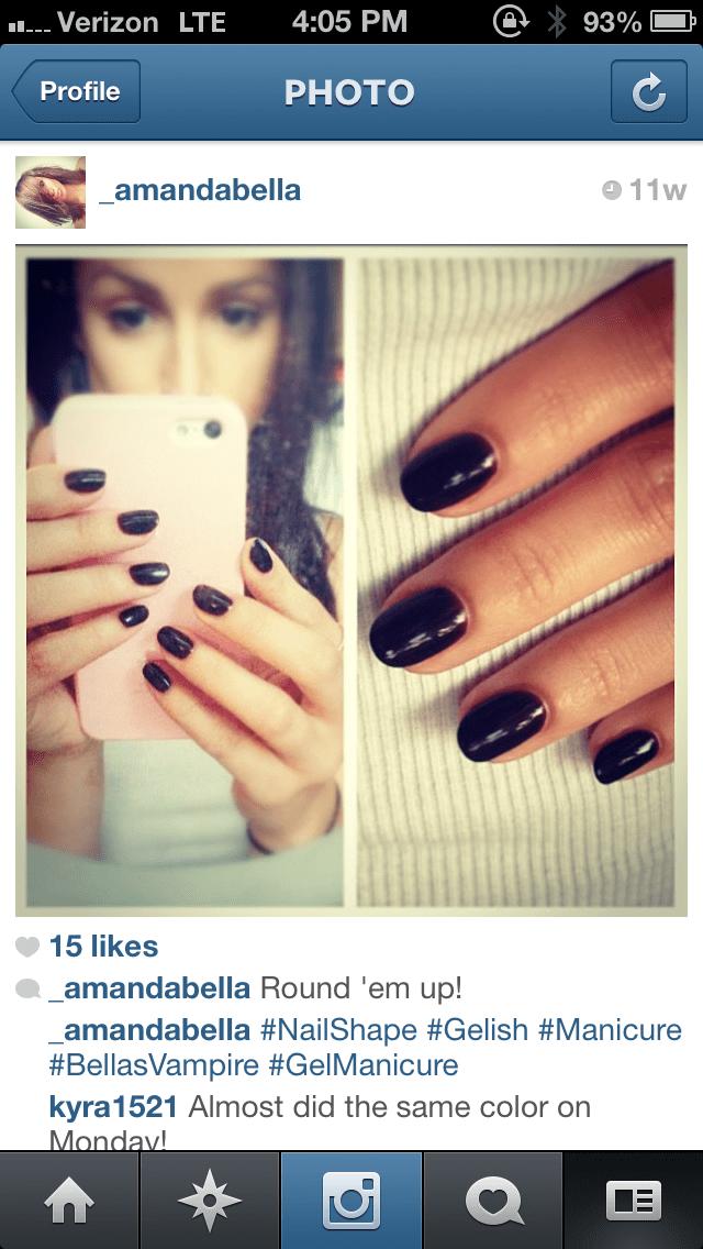 Mani Trends Almond Shaped Nails Amanda Bella