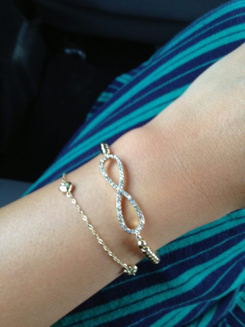 Arm candy :)