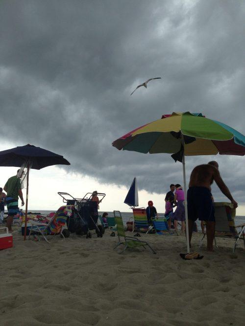 A not-so-nice beach day :(