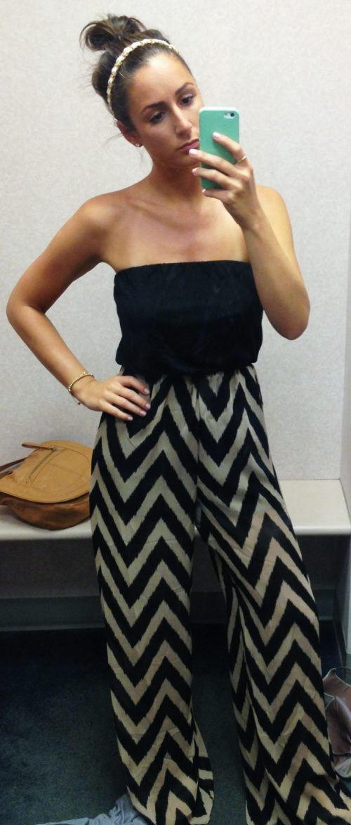 LOVED this jumpsuit in the dressing room!
