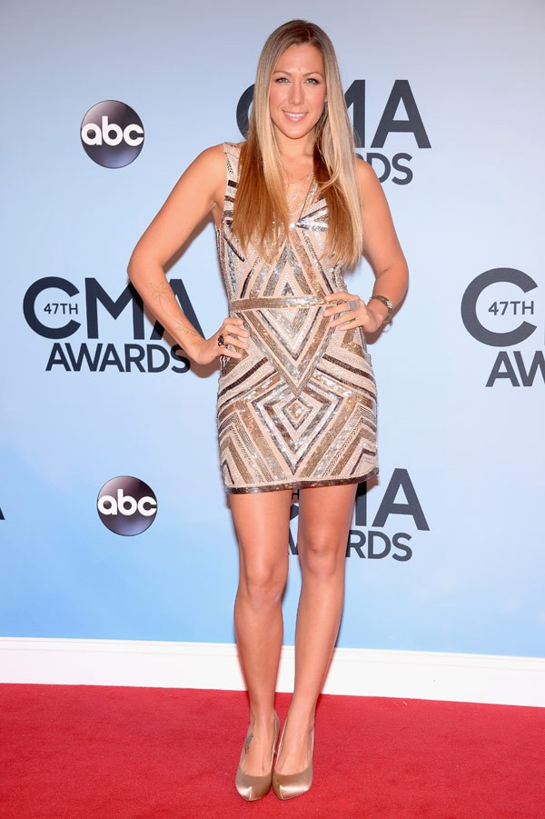 Colbie Caillat. Too cute! She did what I wish Carrie, Jennifer & Kacey would have done with their dresses. LOVE!