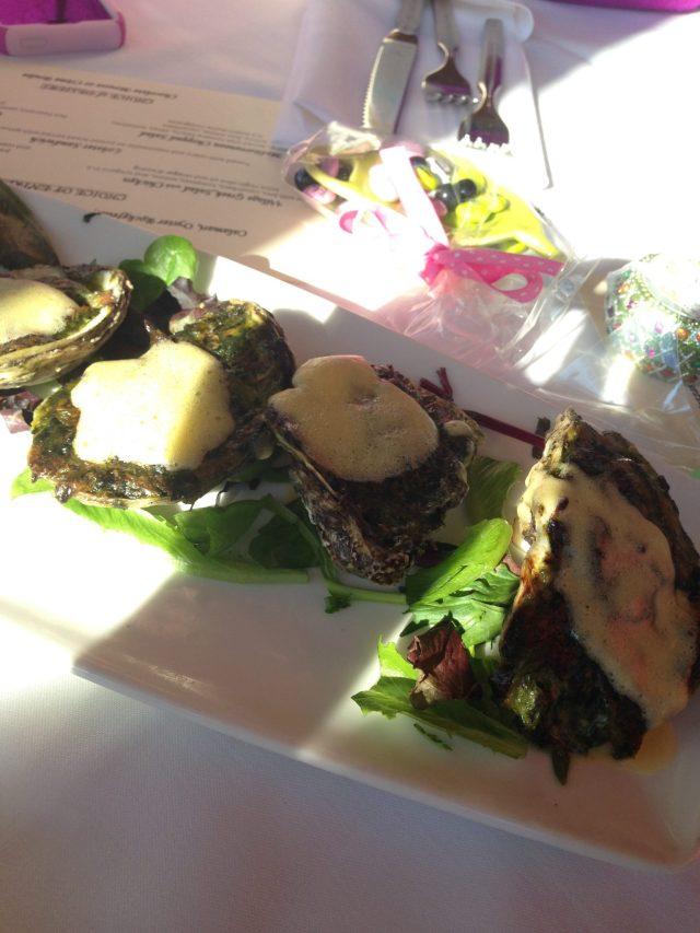 Fancy oysters