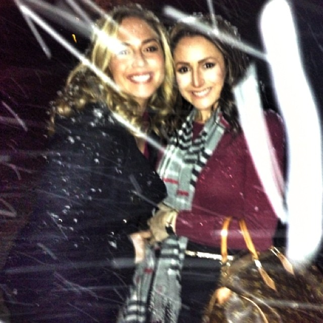 Christmas Eve. My sister and I