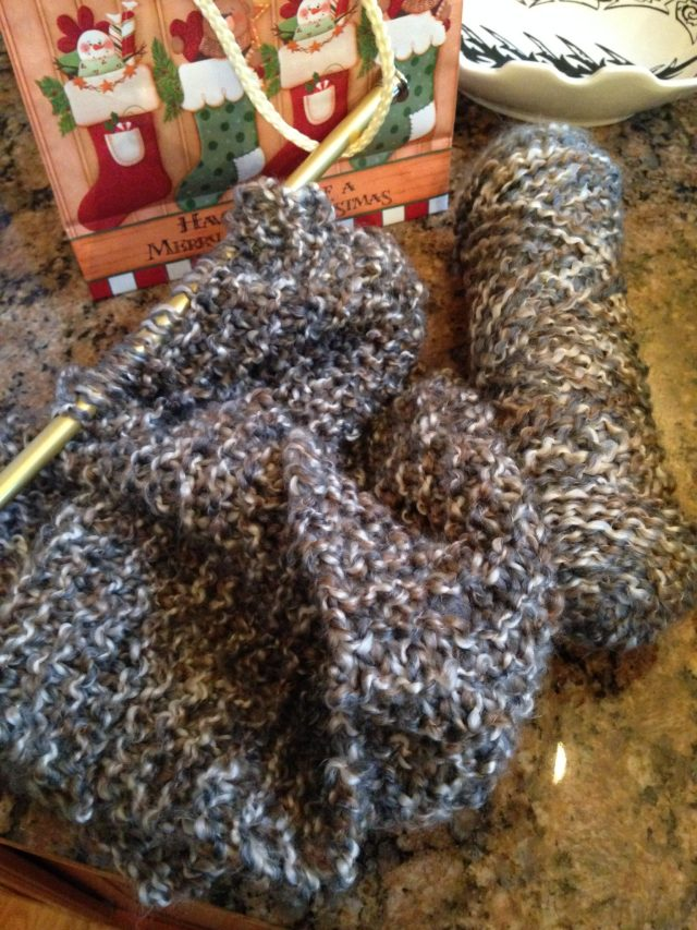 Got lots of knitting in :)