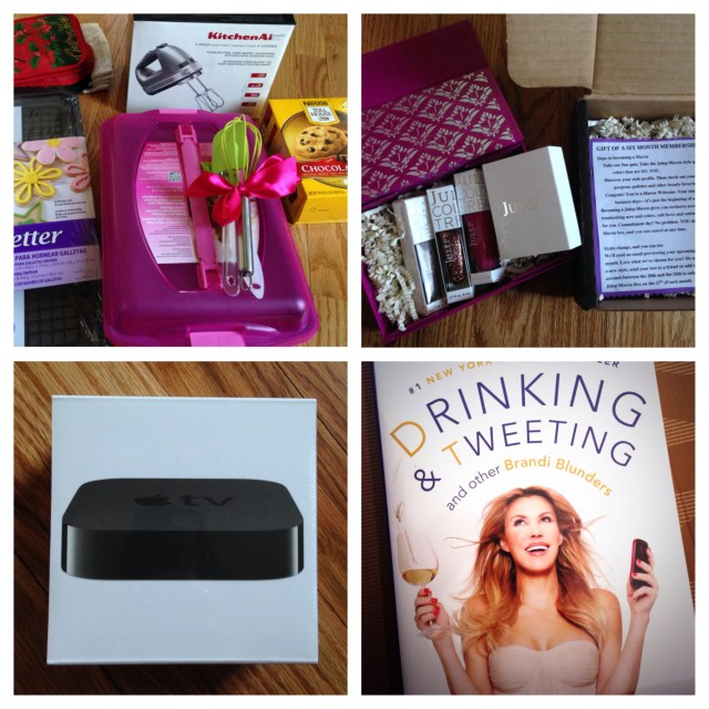 So many wonderful gifts from my family - a few faves :)