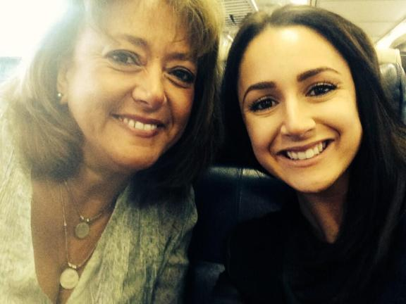 Tweeting selfies to #BethennyTV on the train!
