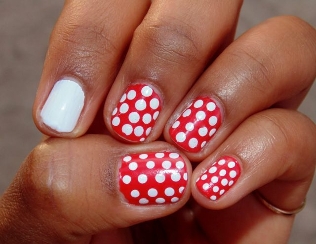 A little Minnie-Mouse-y, but I love! From PinsPlace.