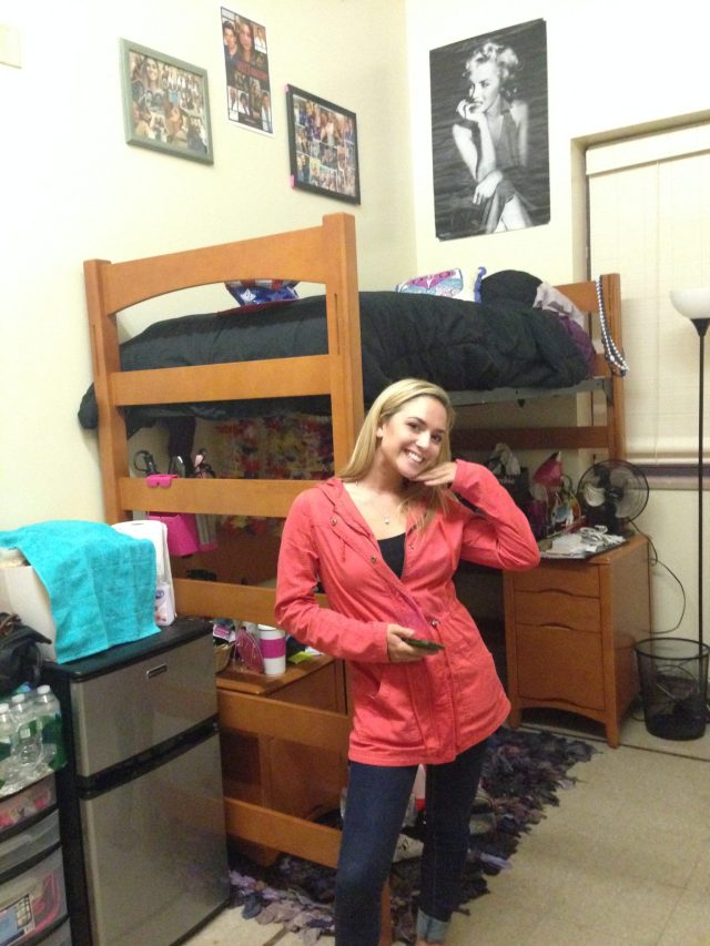 Princess all moved into her new dorm!