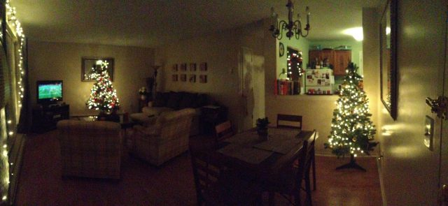 Gahhh I love our apartment this time of year!!