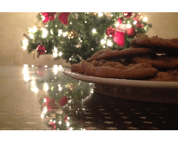 Wrapped up the weekend with some PB/Chocolate chip cookies :)