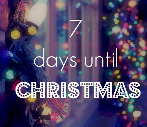 7daysuntilchristmas