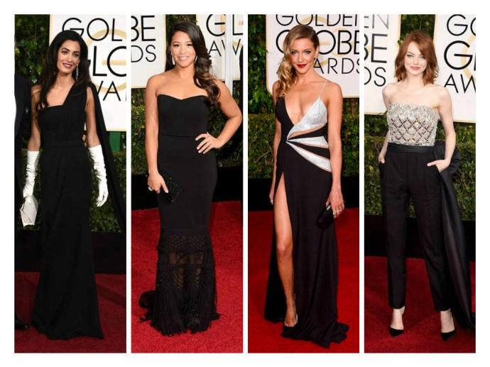 Amal Clooney in XXX, Gina Rodriguez in XXX, Katie Cassidy in XXX, and Emma Stone in XXX