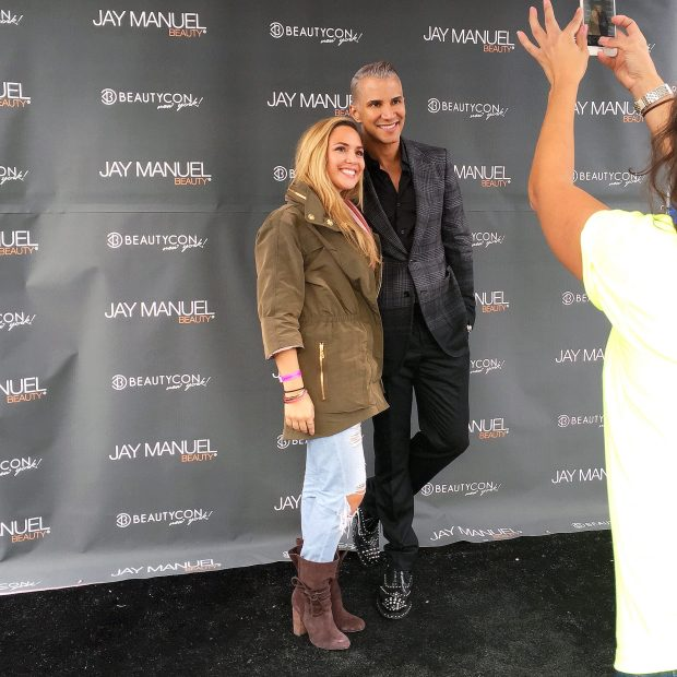 Kath meeting with Jay Manuel!