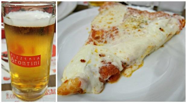 Spontini Pizza beer