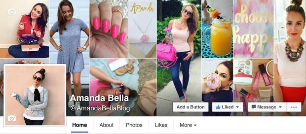 amanda bella facebook page blogger