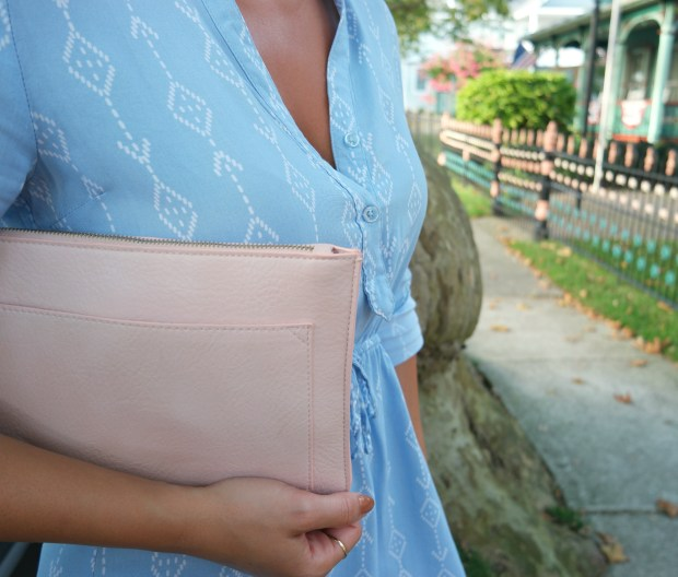 late summer style clutch target