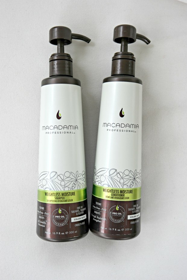 macadamia shampoo conditioner