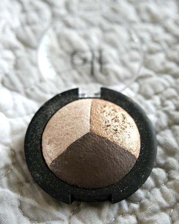elf cosmetics baked eyeshadow trio tutorial 2
