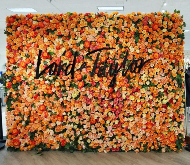 lord and taylor stamford rose wall