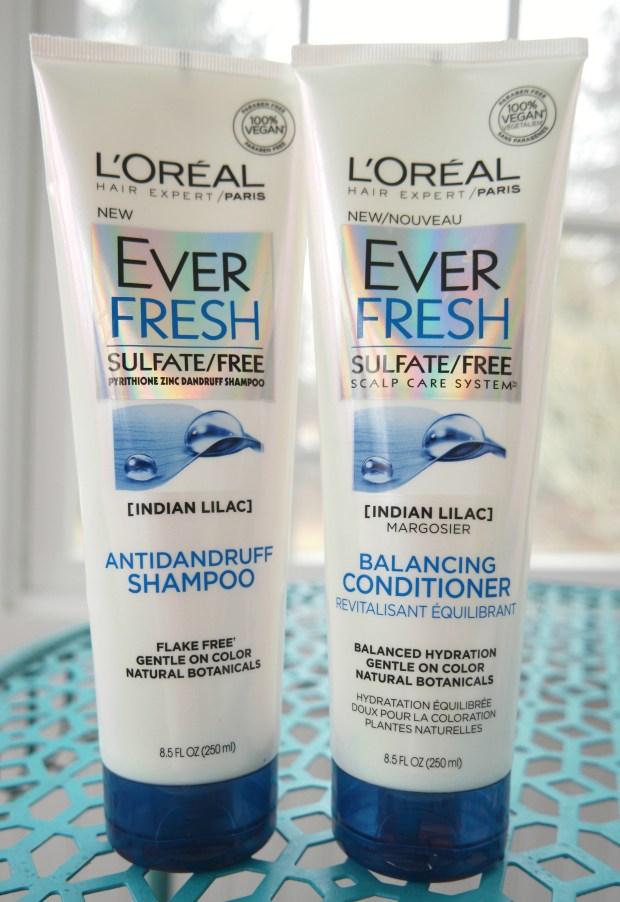 ever fresh sulfate free anti dandruff shampoo