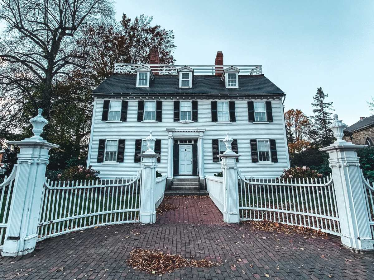 Allison's house from Hocus Pocus