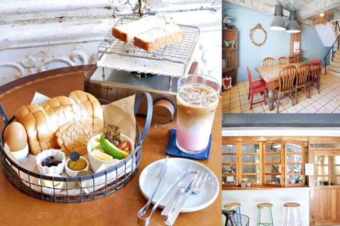 韓系DIY自烤吐司『花樓二店 Follow Coffee Green』不用飛出國,好拍又好吃!台南美食|台南中西區|台南早午餐
