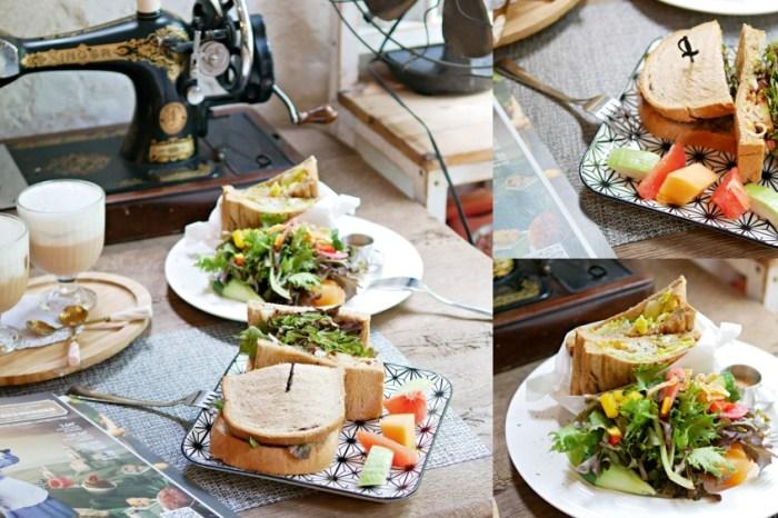 歐式鄉村風手作早午餐『Antique .cafe 古董咖』台南東區IG熱門打卡點推薦!台南美食|台南下午茶