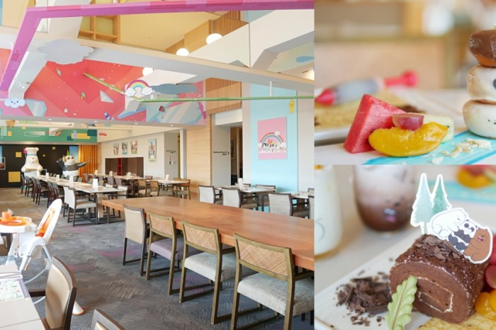 500坪露天奇趣操場樂翻天『Hotel Cozzi 和逸飯店台南西門館』有吃又有玩歡樂下午茶親子時光!台南親子餐廳|台南中西區