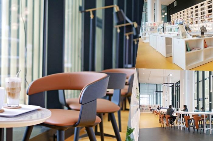 台南最美書店2.0升級版『Ubuntu 烏邦圖書店』進駐台南總圖,純白色系挑高空間太療癒啦!台南咖啡|台南永康區