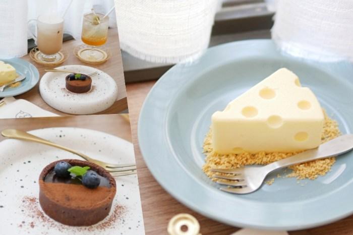 湯姆貓與傑利鼠愛的生乳酪『島內移民』讓人一眼愛上的隱藏版巷弄韓風咖啡廳!台南下午茶|成大美食
