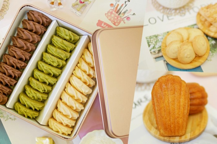 在地人才知道的隱藏版甜點舖『果蒲手作烘焙』純手工製作曲奇餅、瑪德蓮吃起來!台南伴手禮|台南北區|公園路