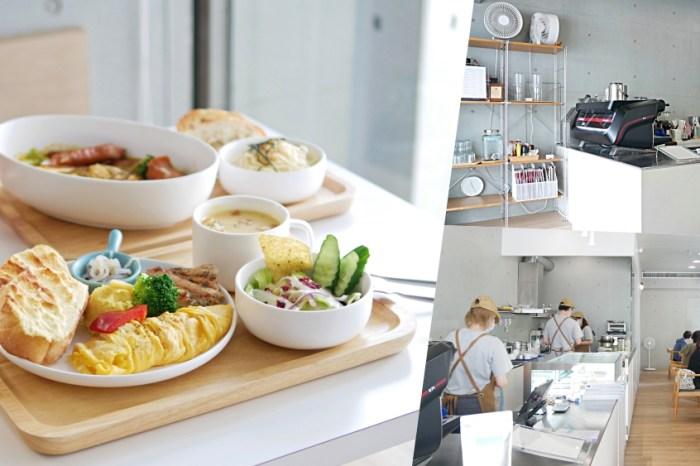 就愛清水模高質感早午餐『T'WIN coffee 咖啡云』近文化中心人氣台南咖啡廳推薦!台南美食|台南東區