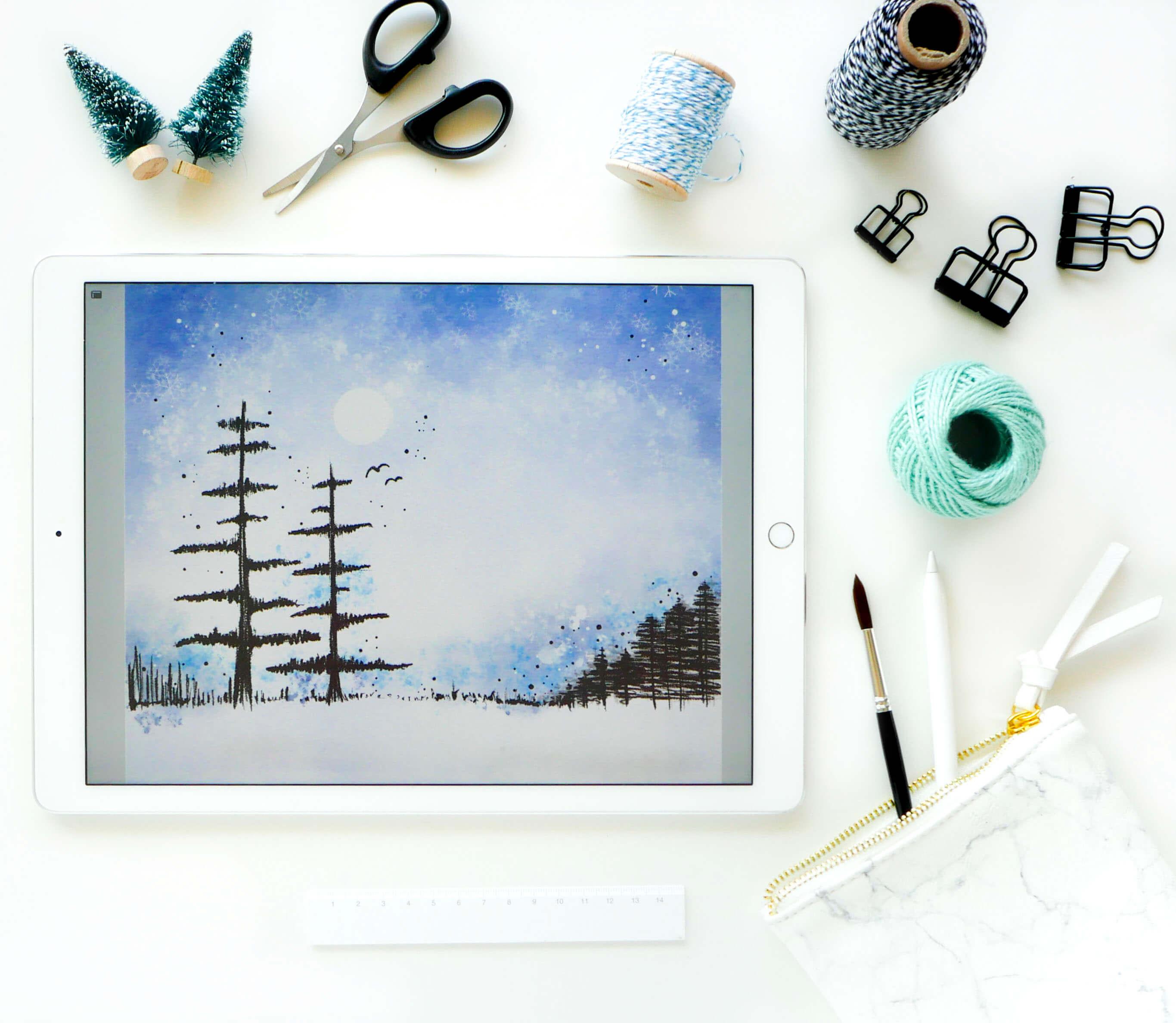 Ipad Watercolor Wonders Online Course