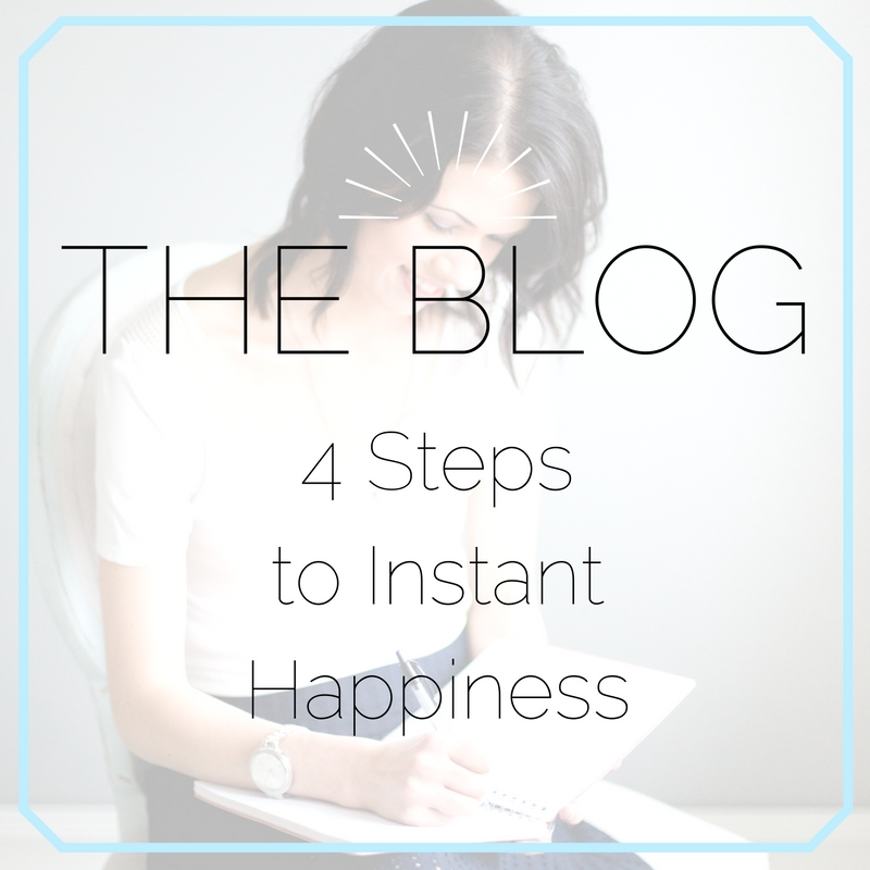 Four Ways to Instantly Boost Your Happiness