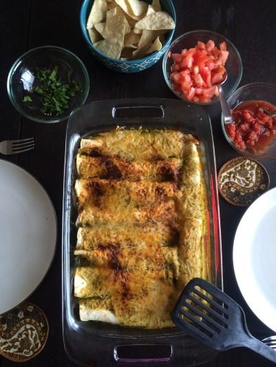 First Week in Colorado Springs: homemade enchiladas   amandabixler.com