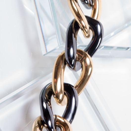 Ceramiqué Black/Gold Duet Bracelet