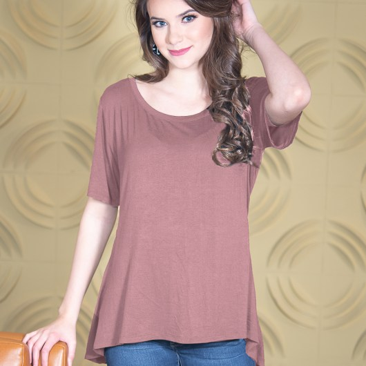 Fit & Flare Top - Woodrose
