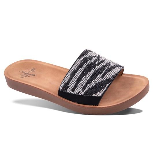 Celeste Sandal - Zebra