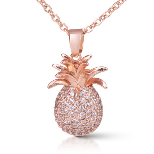 Pineapple Necklace - Rosegold