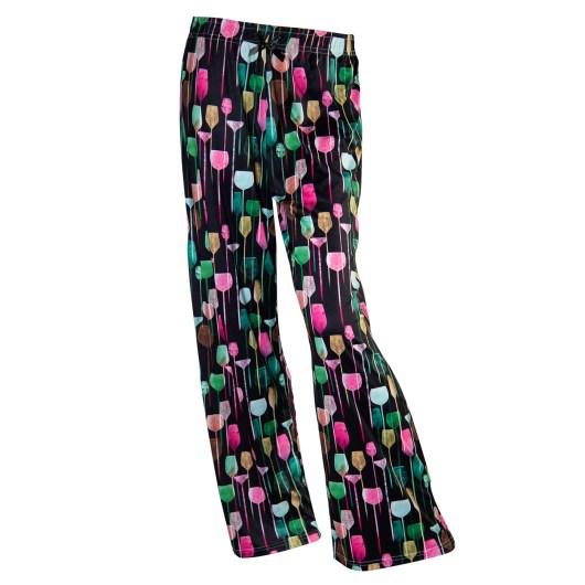 Pajama Pants Size XLarge - Wine Glasses