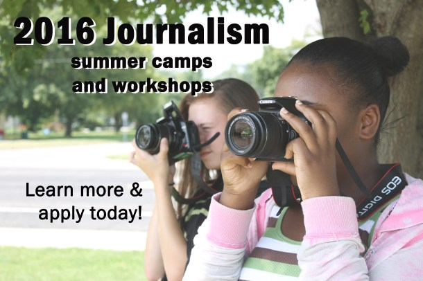 We always want students to keep learning, so I created imagery and an extensive list of summer journalism workshops at IJEA.net.