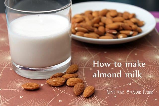 amandacook.me How to make almond milk