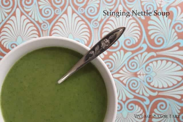amandacook.me Stinging Nettle Soup Recipe