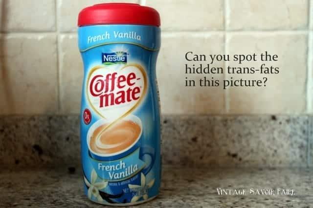 hidden trans fats