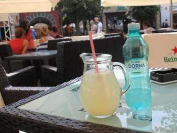 fresh lemonade in romania